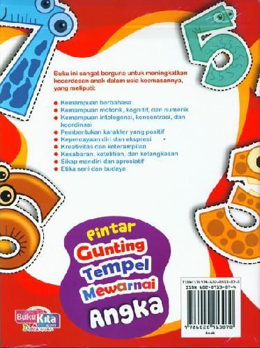 Cover Buku Pintar Gunting Tempel Mewarnai Angka