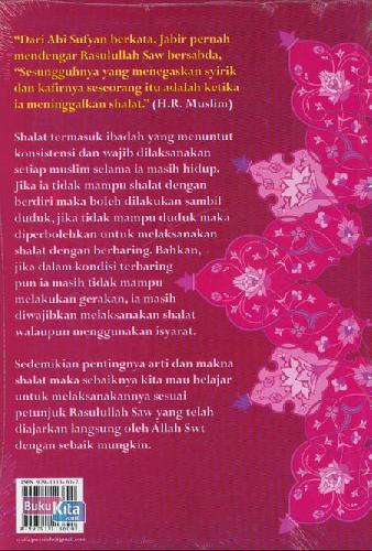Cover Belakang Buku Buku Pintar Tata Cara Shalat Nabi