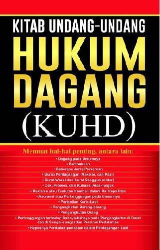Cover Buku Kitab Undang-undang Hukum Dagang (KUHD)