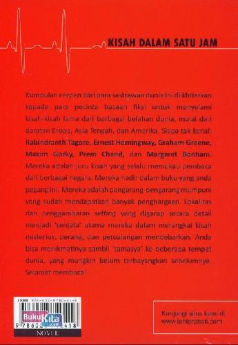Cover Belakang Buku Kisah Dalam Satu Jam