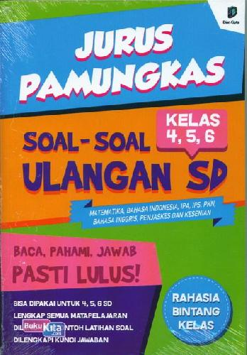 Cover Buku Jurus Pamungkas Soal-Soal Sd Kls 4,5,6
