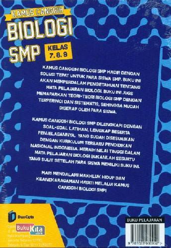 Cover Belakang Buku Smp Kl 7-9 Kamus Canggih Biologi