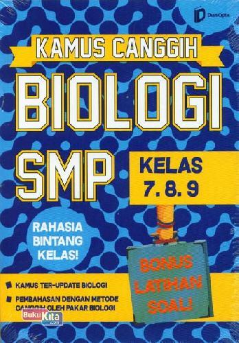 Cover Buku Smp Kl 7-9 Kamus Canggih Biologi