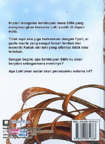 Cover Belakang Buku Lite Novel: She Loves You