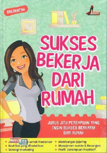 Cover Buku Sukses Bekerja Dari Rumah