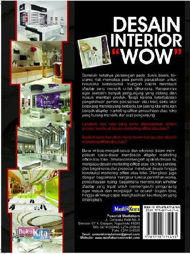 Cover Belakang Buku Desain Interior Wow