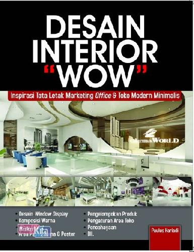 Cover Buku Desain Interior Wow