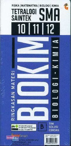 Cover Buku Tetralogi Saintek SMA 10/11/12 Ringkasan Fismat Biokim (FISIKA MATEMATIKA BIOLOGI KIMIA)
