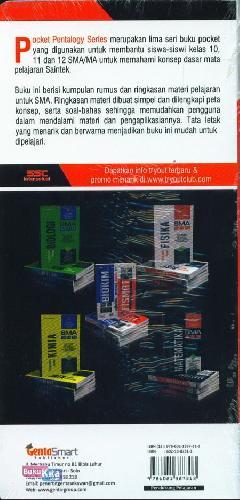 Cover Belakang Buku SMA 10-12 Pocket Pentalogy Series Ringkasan Materi Matematika