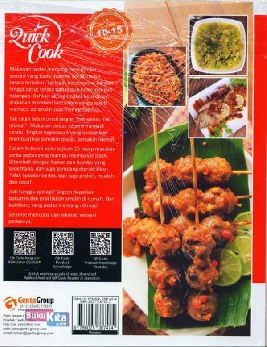 Cover Belakang Buku Quick Cook 25 Resep Masakan Pedas