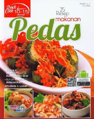 Cover Buku Quick Cook 25 Resep Masakan Pedas