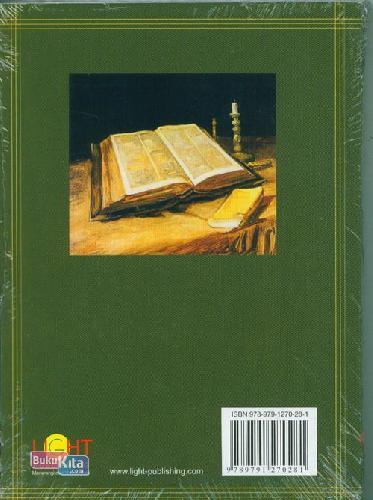Cover Belakang Buku Janji-Janji Tuhan Untuk Segala Kebutuhan Anda