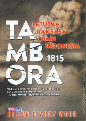 Cover Buku Tambora Letusan Raksasa Dari Indonesia
