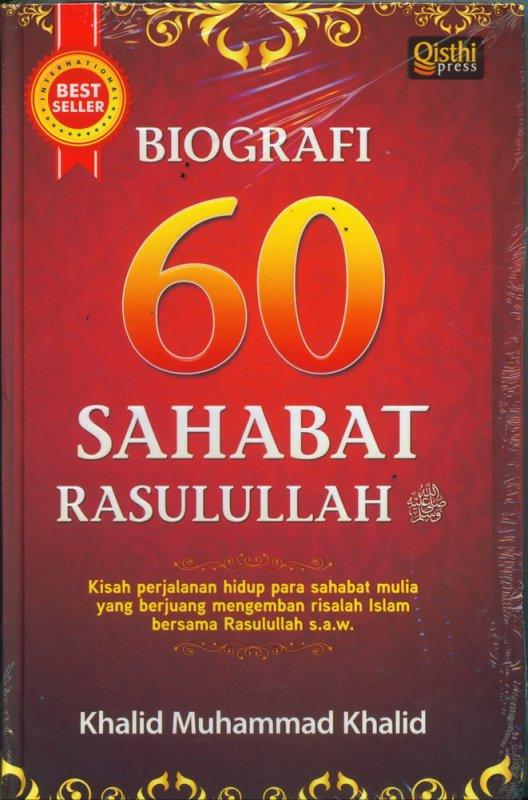 Cover Buku Biografi 60 Sahabat Rasulullah (Hard Cover)