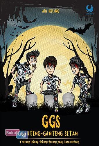Cover Buku Ggs (Ganteng-Ganteng Setan)
