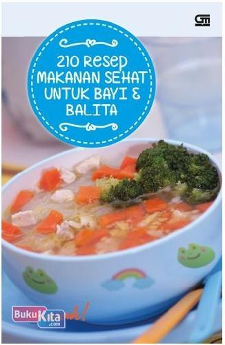 Cover Buku 210 Resep Makanan Sehat Bayi & Balita