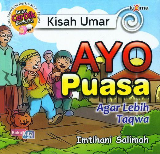 Cover Buku Kisah Umar : Ayo Puasa Agar Lebih Taqwa