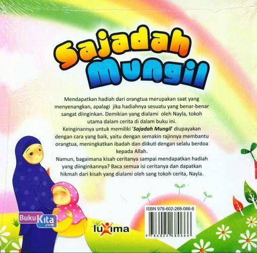 Cover Belakang Buku Sajadah Mungil