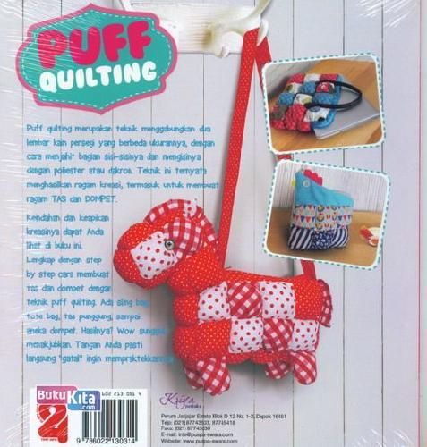 Cover Belakang Buku Puff Quilting