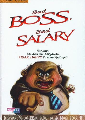 Cover Buku Bad Boss Bad Salary