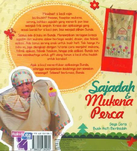Cover Belakang Buku Sajadah dan Mukena Perca