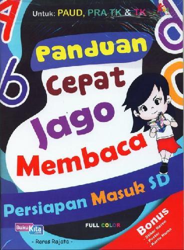 Cover Buku Panduan Cepat Jago Membaca (Full Color)