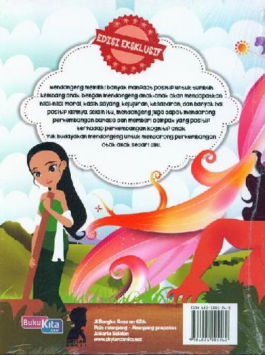 Cover Belakang Buku Kumpulan Dongeng dan Cerita Rakyat Nusantara + Cd