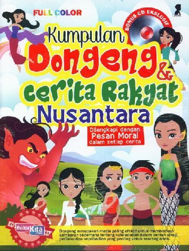 Cover Buku Kumpulan Dongeng dan Cerita Rakyat Nusantara + Cd