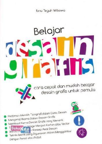 Cover Buku Belajar Desain Grafis