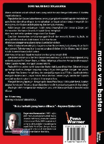 Cover Belakang Buku Marco van Basten Era AC Milan dan Oranye