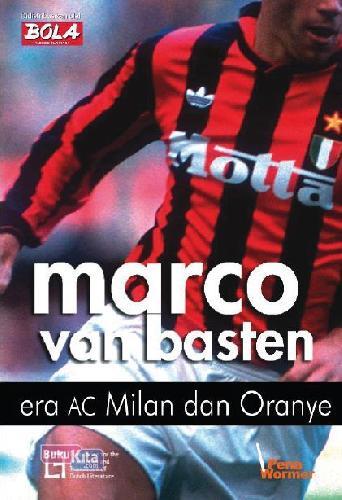 Cover Buku Marco van Basten Era AC Milan dan Oranye