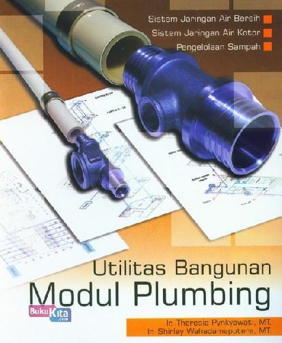 Cover Buku Utilitas Bangunan Modul Plumbing