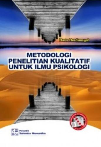 Cover Buku Metodologi Penelitian Kualitatif Untuk Ilmu Psikologi