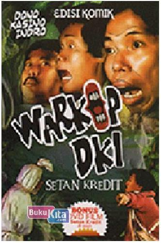 Cover Buku Komik Warkop DKI : Setan Kredit