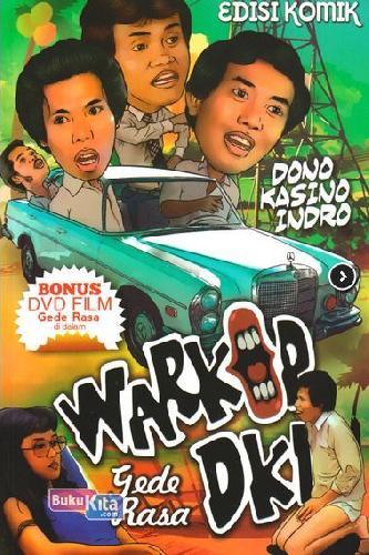 Cover Buku Komik Warkop DKI : Gede Rasa