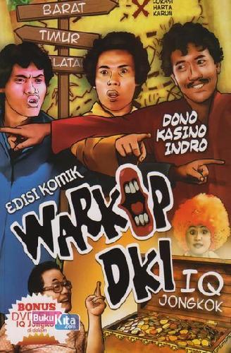 Cover Buku Komik Warkop DKI : IQ Jongkok
