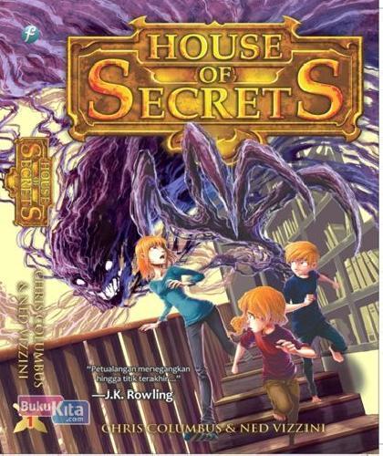 Cover Buku House Of Secrets #1