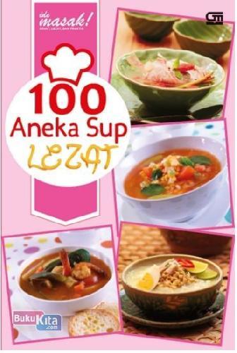 Cover Buku 100 Aneka Sup Lezat