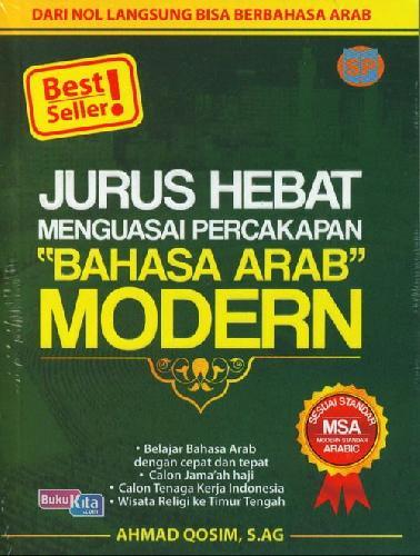 Cover Buku Jurus Hebat Menguasai Percakapan BAHASA ARAB MODERN