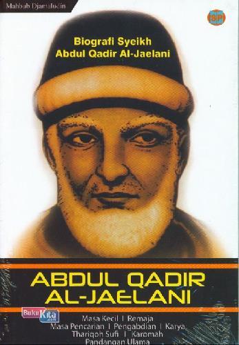 Cover Buku Abdul Qadir Al-Jaelani