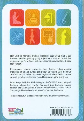 Cover Belakang Buku Sunah2 Hari Jumat