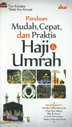 Cover Buku Panduan Mudah Cepat dan Praktis Haji & Umrah