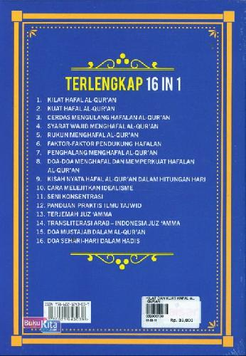 Cover Belakang Buku Kilat & Kuat Hafalan Al-Quran Terjemah Juz Amma & Ilmu Tajdwid Praktis
