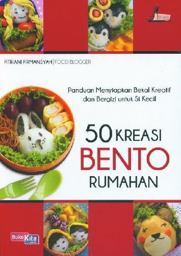 Cover Buku 50 Kreasi Bento Rumahan