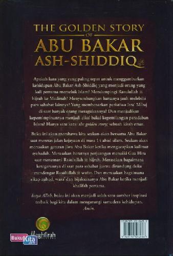 Cover Belakang Buku The Golden Story of Abu Bakar Ash-Shiddiq