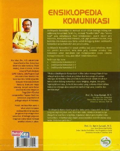 Cover Belakang Buku Ensiklopedia Komunikasi