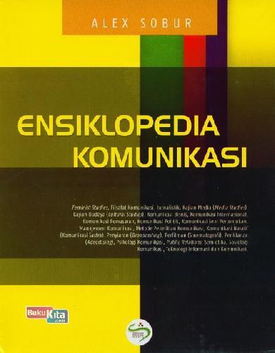 Cover Buku Ensiklopedia Komunikasi