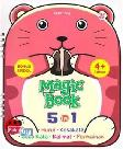 Magic Book 5 In 1 Huruf, Kosakata, Sukukata, Kalimat, Permainan