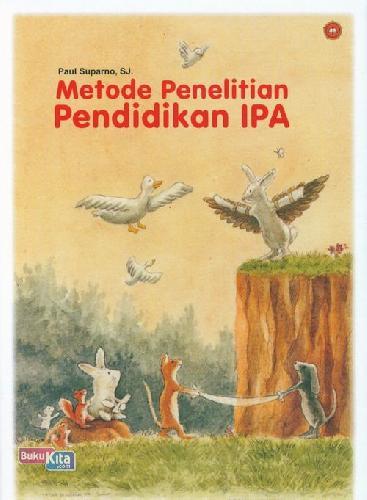 Cover Buku Metode Penelitian Pendidikan Ipa