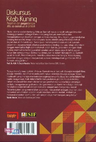 Cover Belakang Buku Diskursus Kitab Kuning